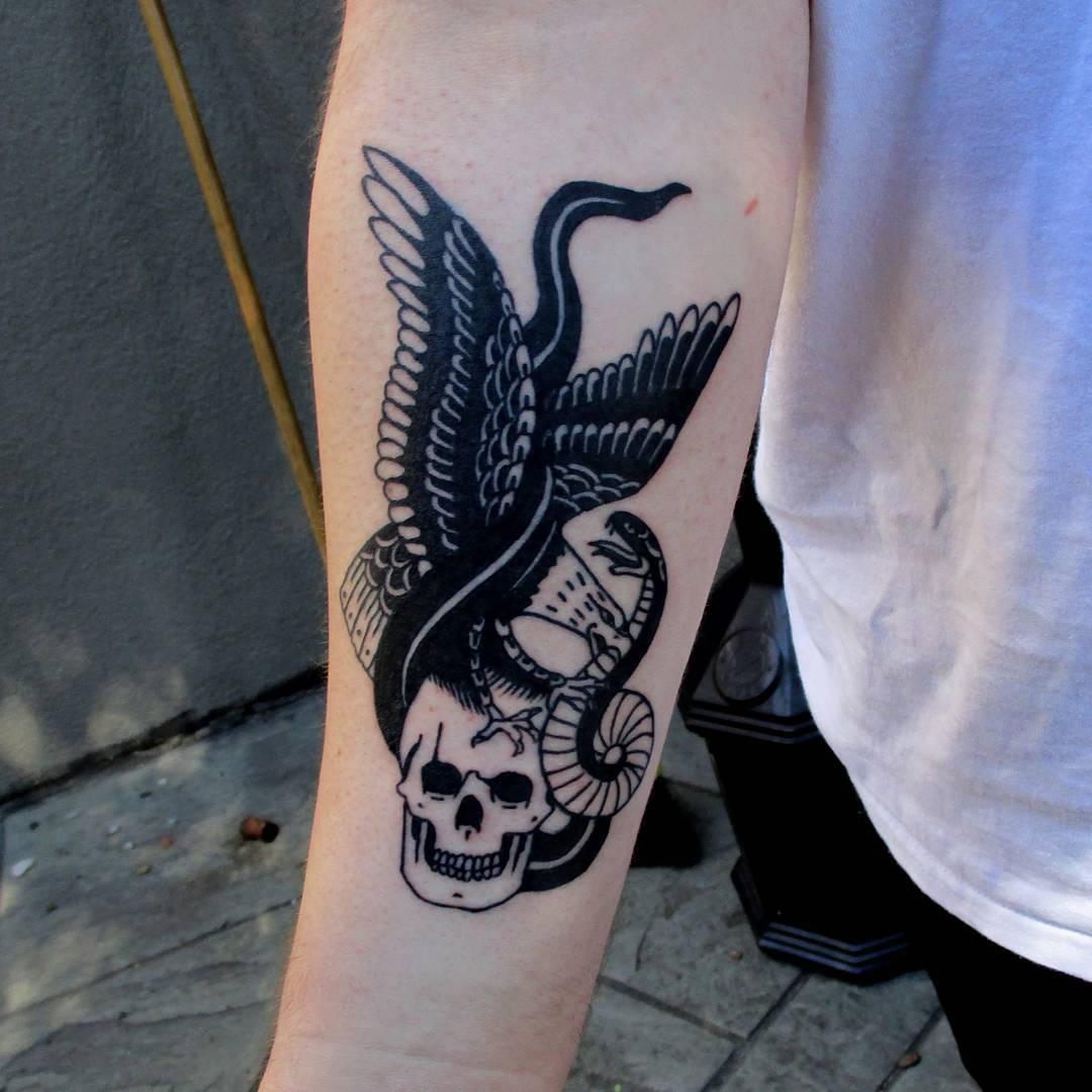 Snake Skull Tattoo: 70+ Best Healing Snake Tattoo Designs & Meanings