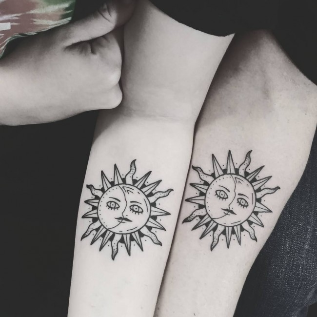 95 Best Sun Tattoo Designs Meanings Symbol Of The Universe 2018
