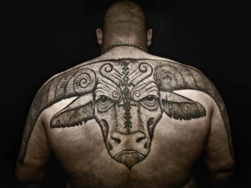 70 Astrological Taurus Tattoo Designs Strong Willed Zodiac Sign