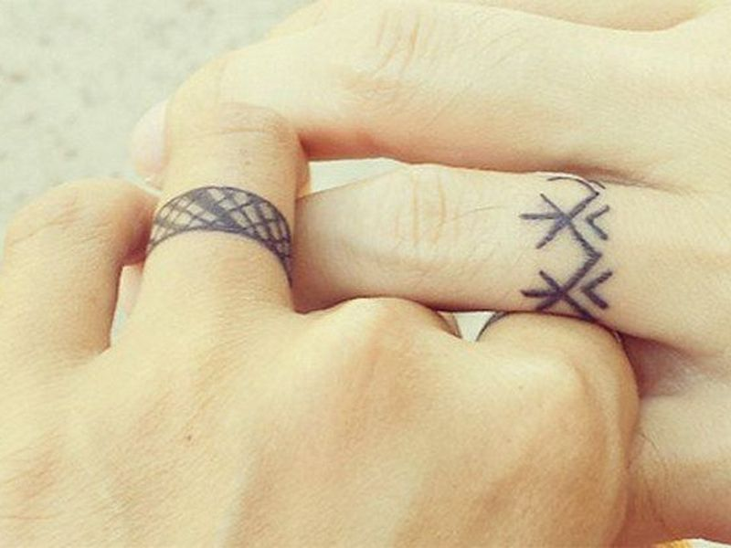 55 Wedding Ring Tattoo Designs Meanings True Commitment 2018