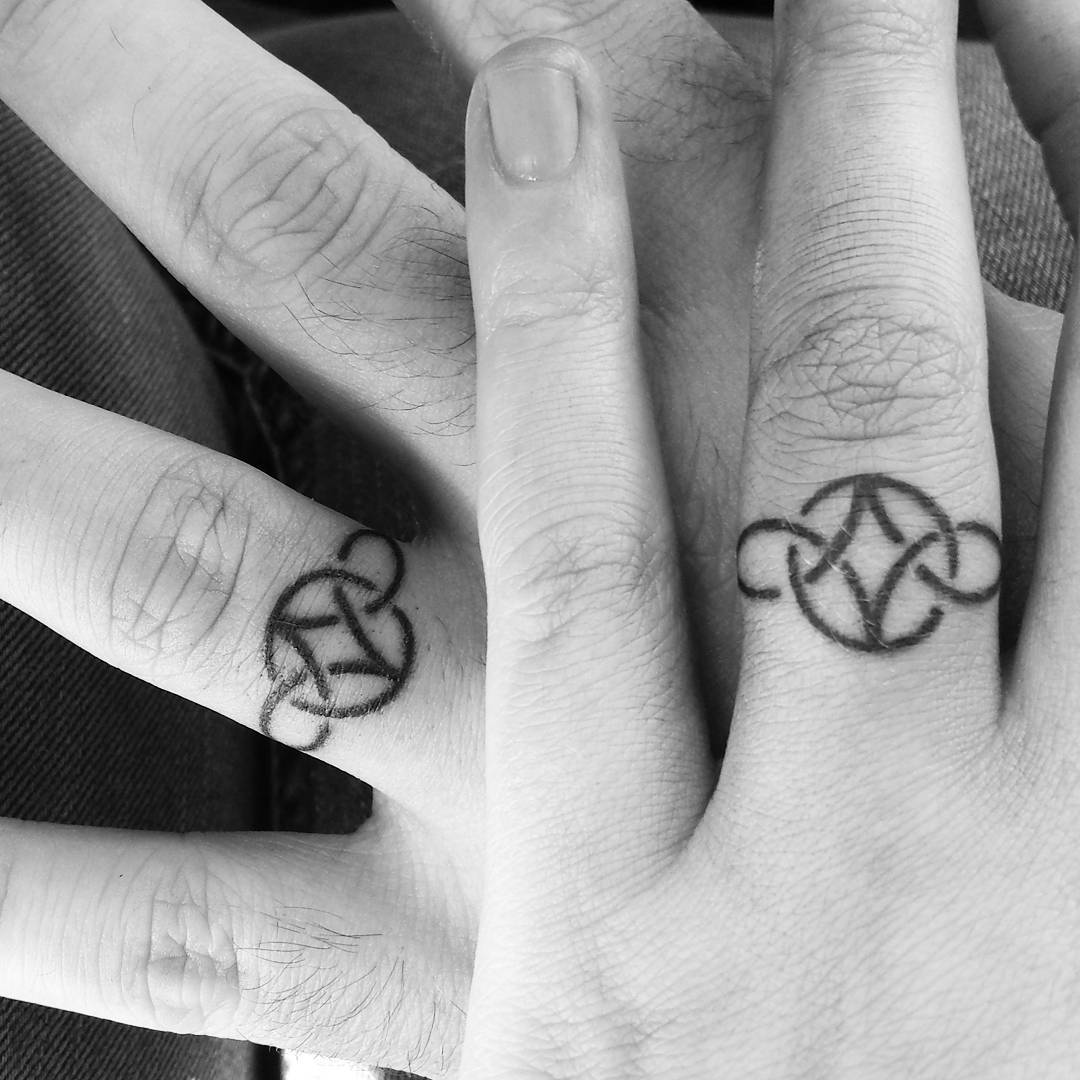 55+ Wedding Ring Tattoo Designs & Meanings