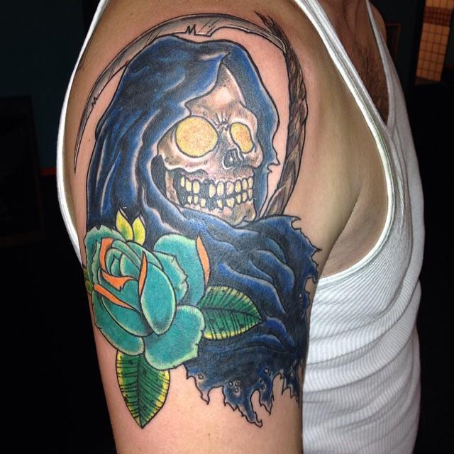 Grim Reaper Tattoos