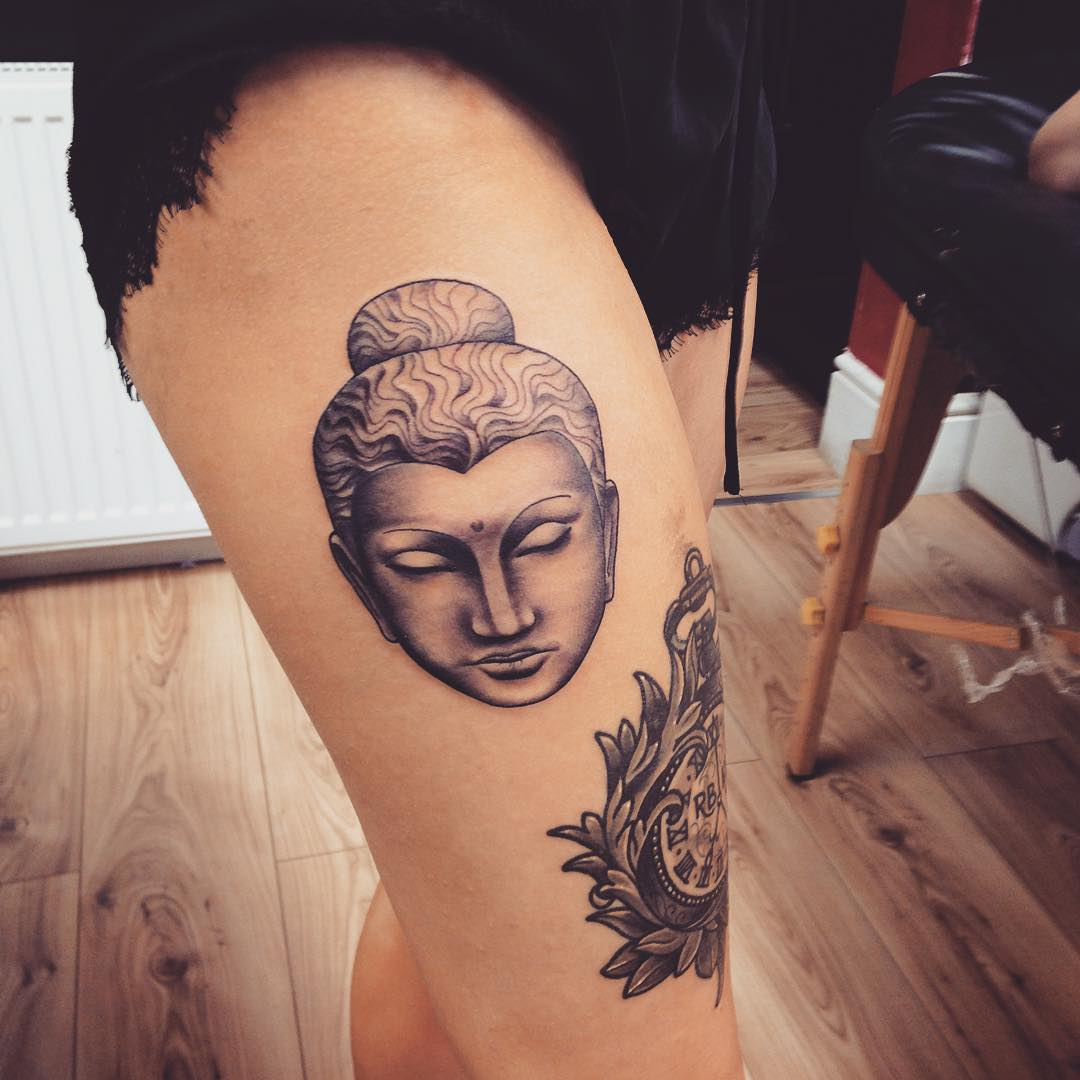 115+ Best Thigh Tattoos Ideas For Women - Designs