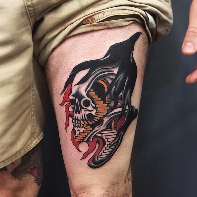 30 Creative Grim Reaper Tattoos