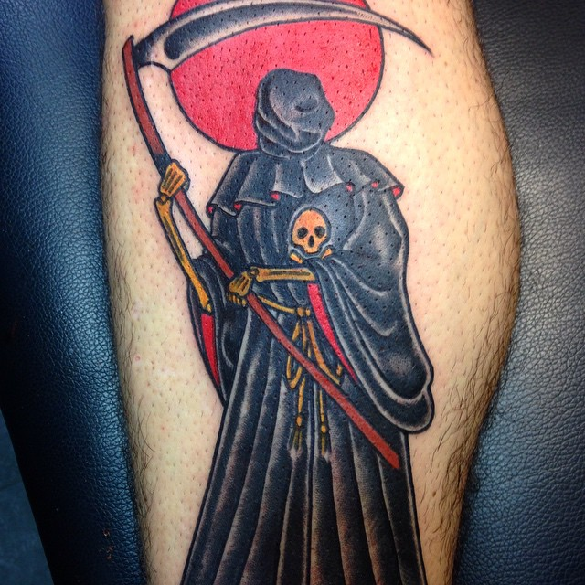 30 Creative Grim Reaper Tattoos