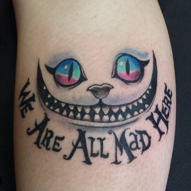 Alice in wonderland tattoos (1)