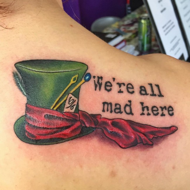 Alice In Wonderland Tattoos: 105+ Fairy Alice In Wonderland Tattoo