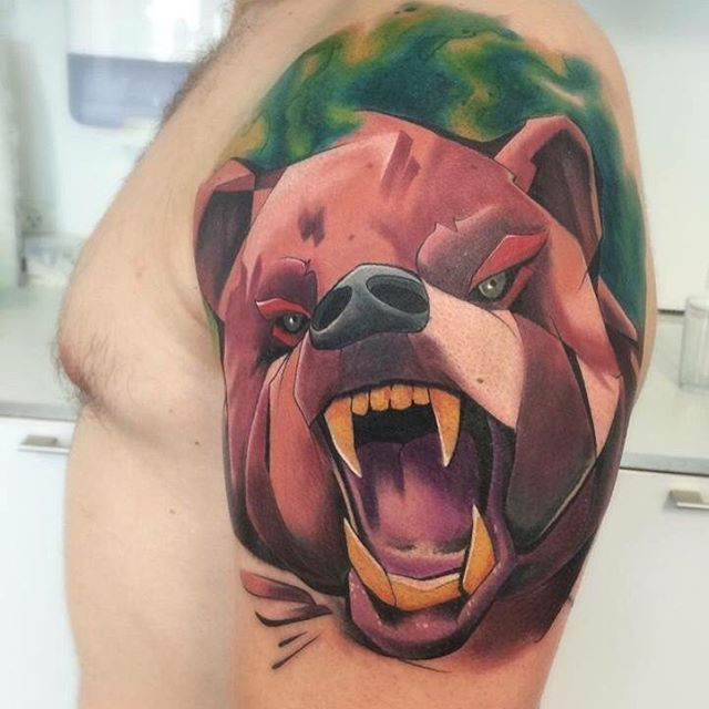 Bear tattoos (2)