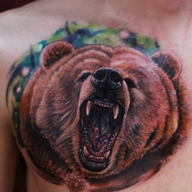 85+ Rough Bear Tattoo Designs & Meanings - Feel The Wild