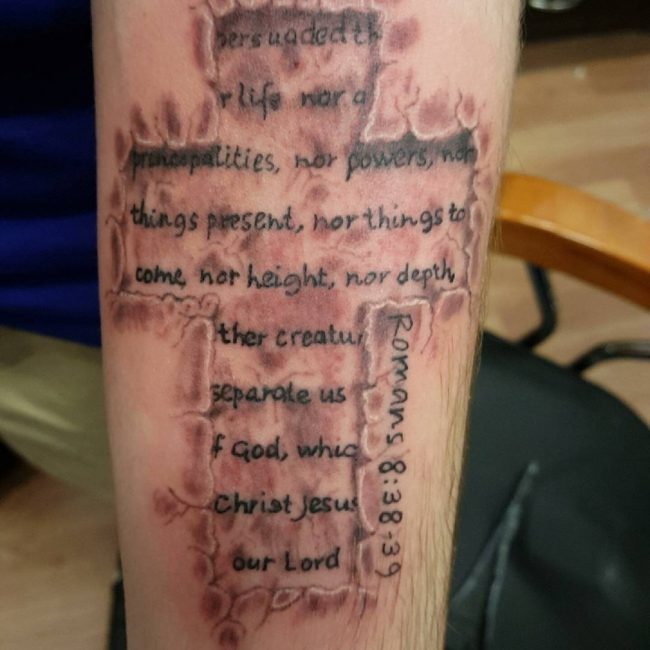 Bible verses tattoos