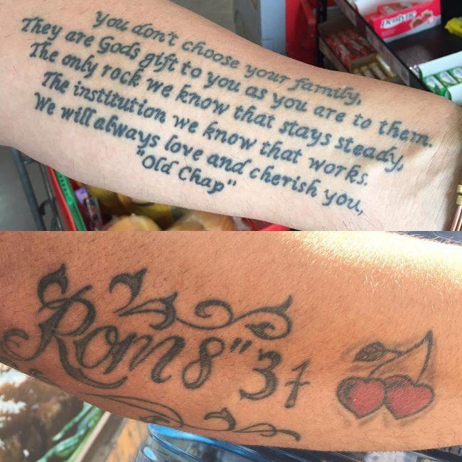Bible verses tattoos