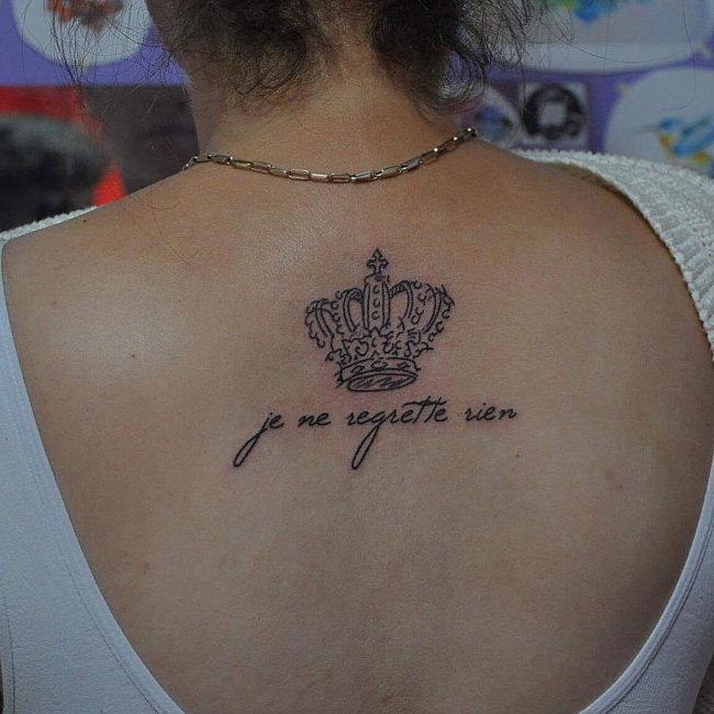 342313ec9 55 Best King And Queen Crown Tattoo - Designs & Meanings (2019)