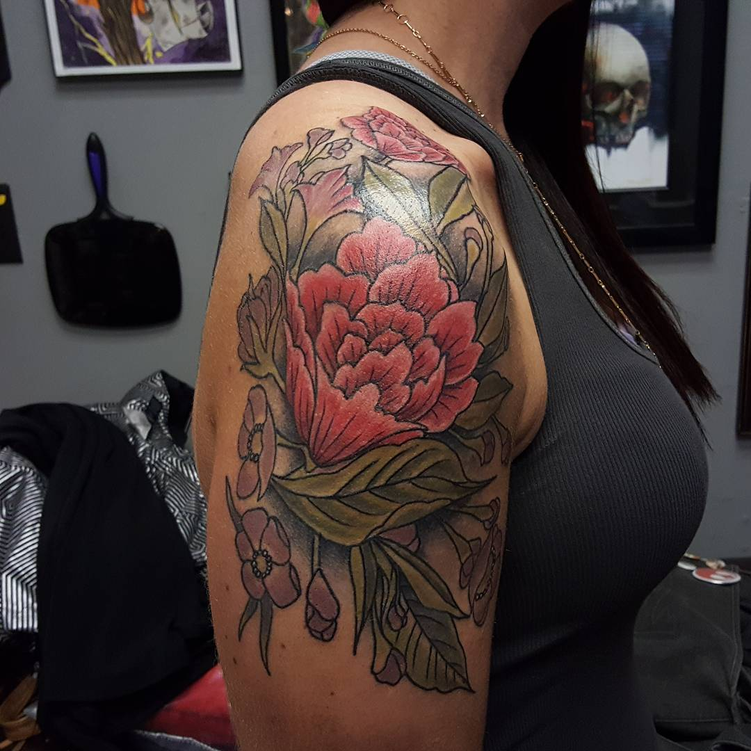 Designs Meanings 2019: 90 Best Floral Tattoo Designs & Meanings