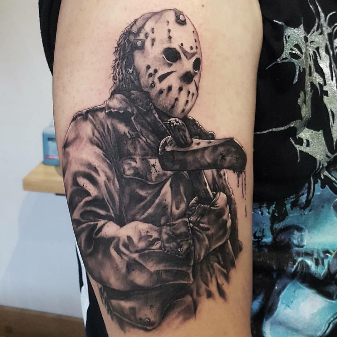 70 best daredevil friday the 13th tattoos designs meanings of 2018. Black Bedroom Furniture Sets. Home Design Ideas