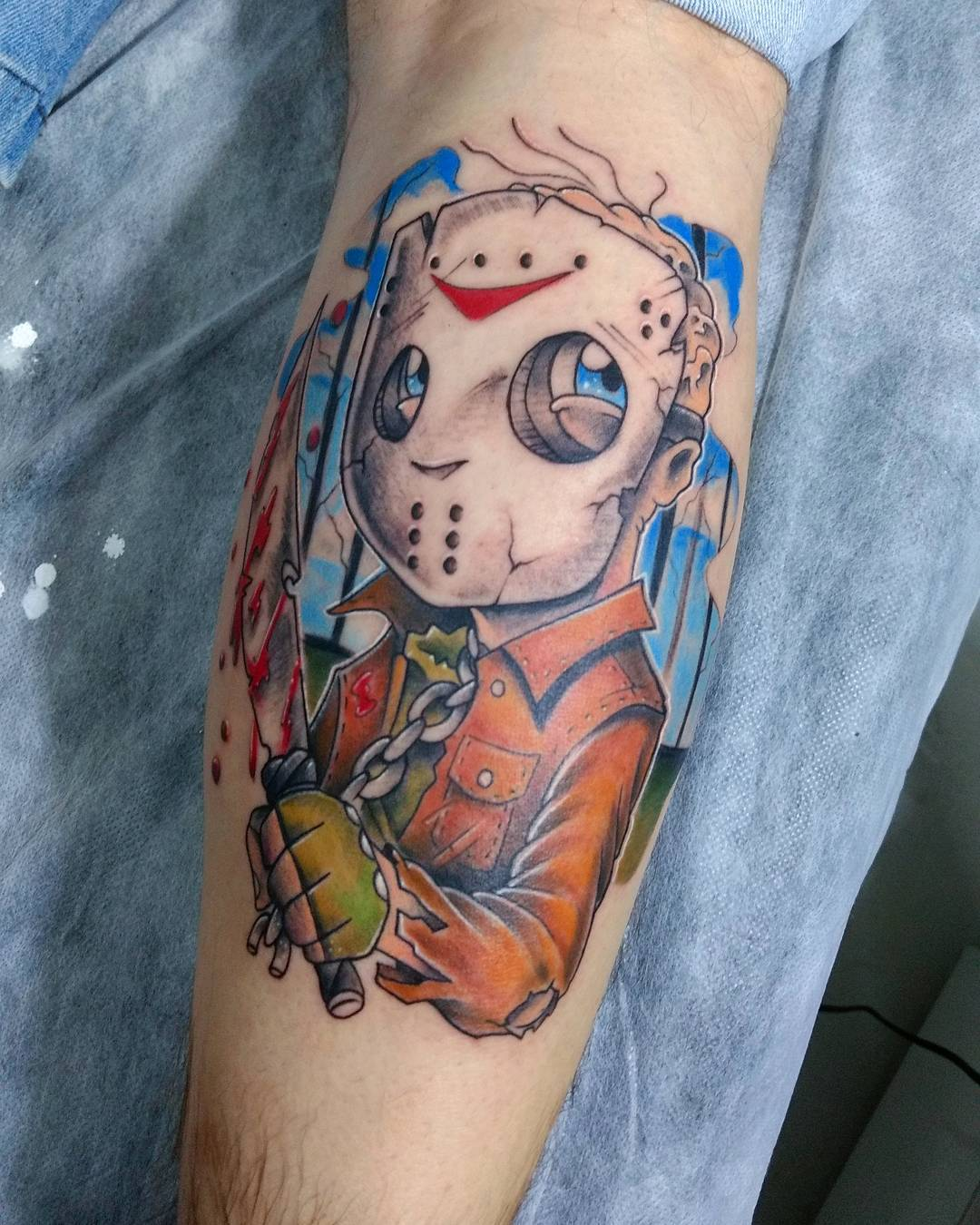 70 best daredevil friday the 13th tattoos designs for Hard ink tattoo