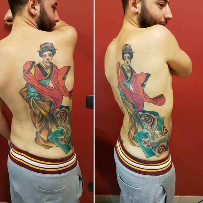 Geisha tattoos (1)