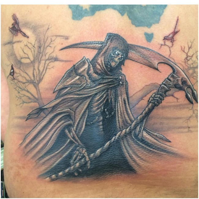 Grim Reaper Tattoos (2)