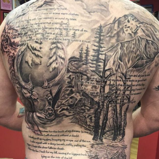 Hunting tattoos