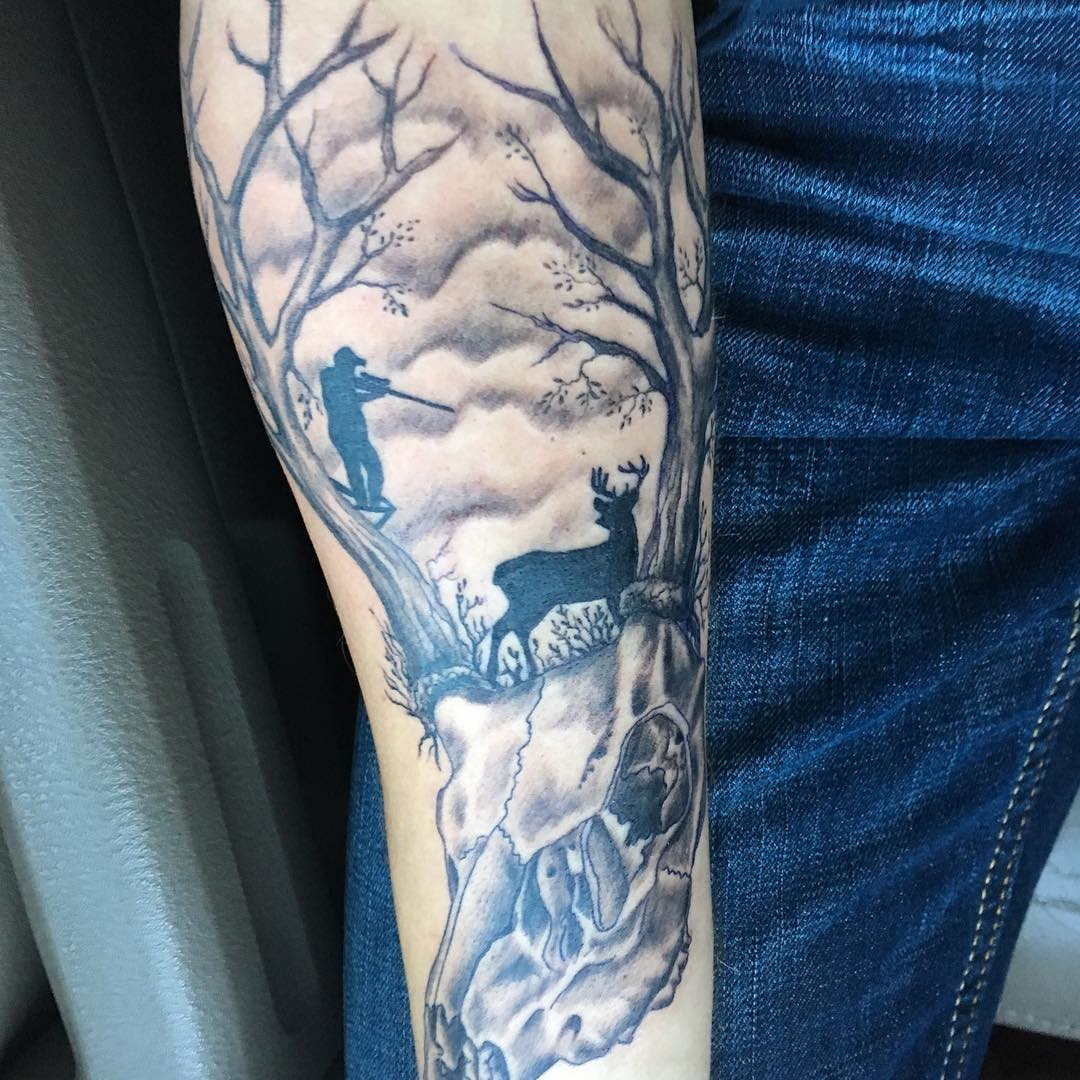 75 Best Hunting Tattoo Designs and Ideas - Hobby ...