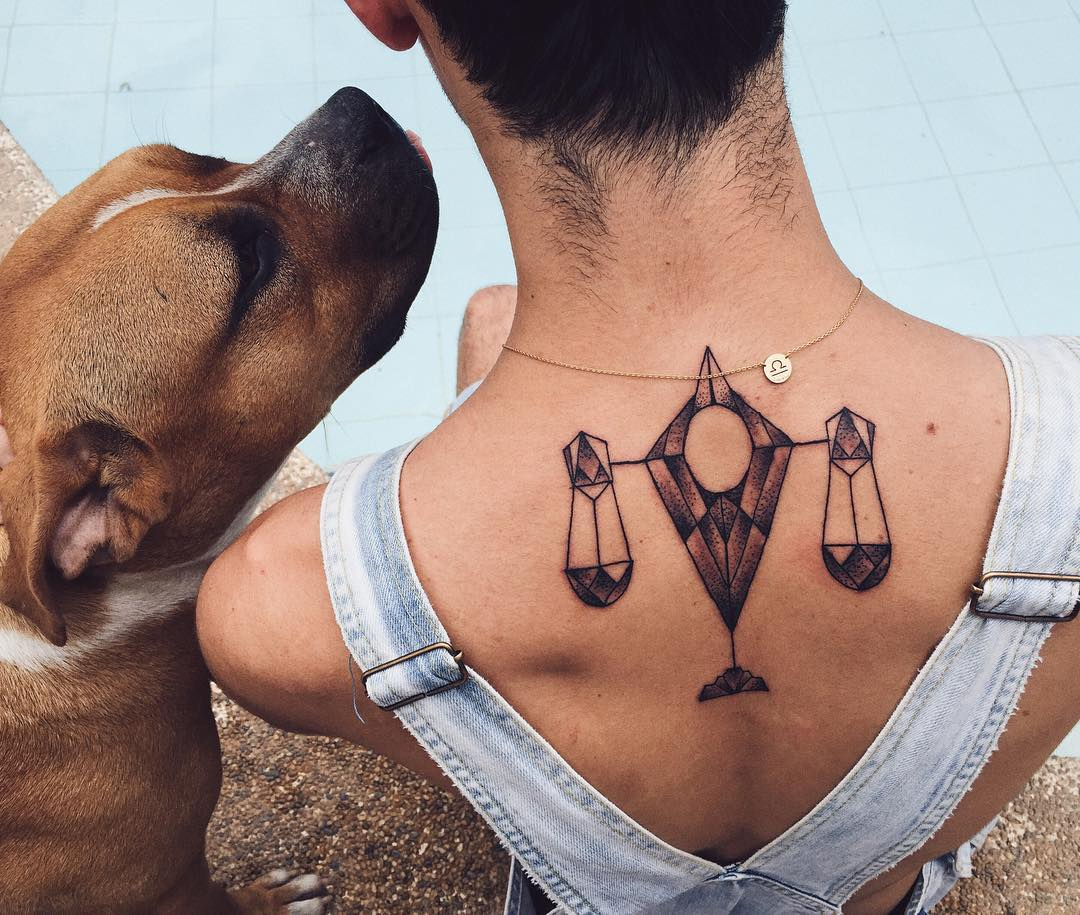 75 extraordinary libra tattoo designs amp meanings 2019