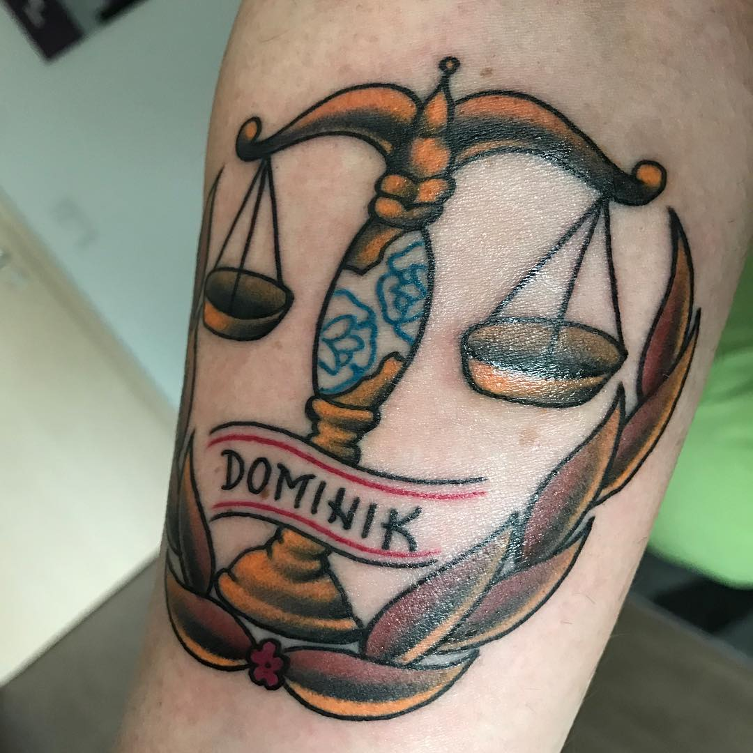 Libra Tattoos Designs Ideas And Meaning