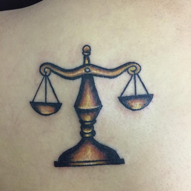 24 Libra Tattoo Designs Ideas: 75 Extraordinary Libra Tattoo