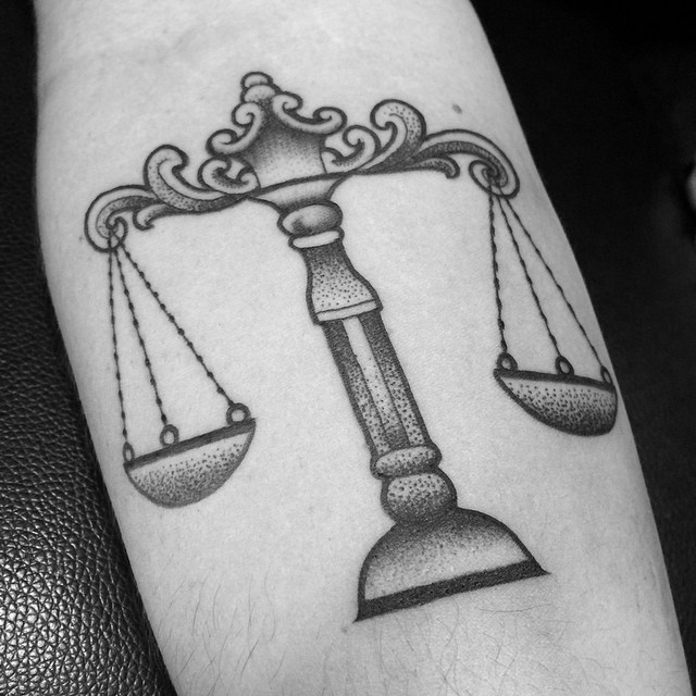 75 extraordinary libra tattoo designs meanings 2018 for Aries and libra tattoo