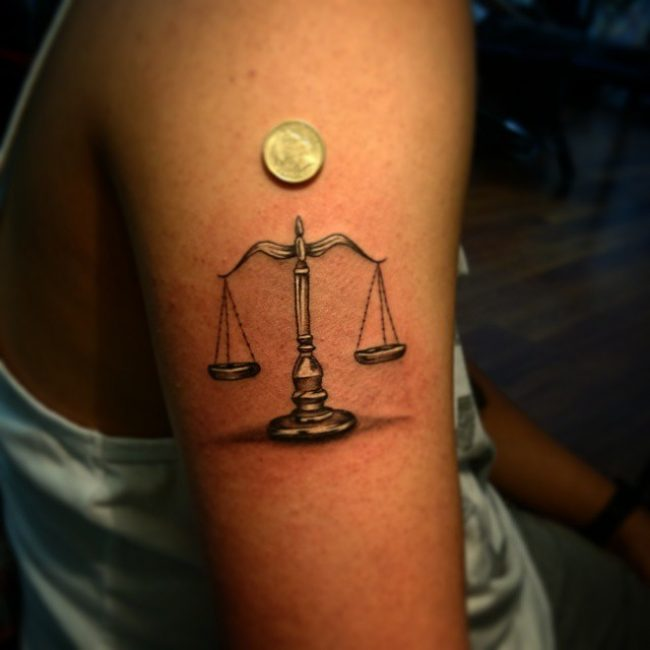 75 Extraordinary Libra Tattoo Designs Meanings 2018