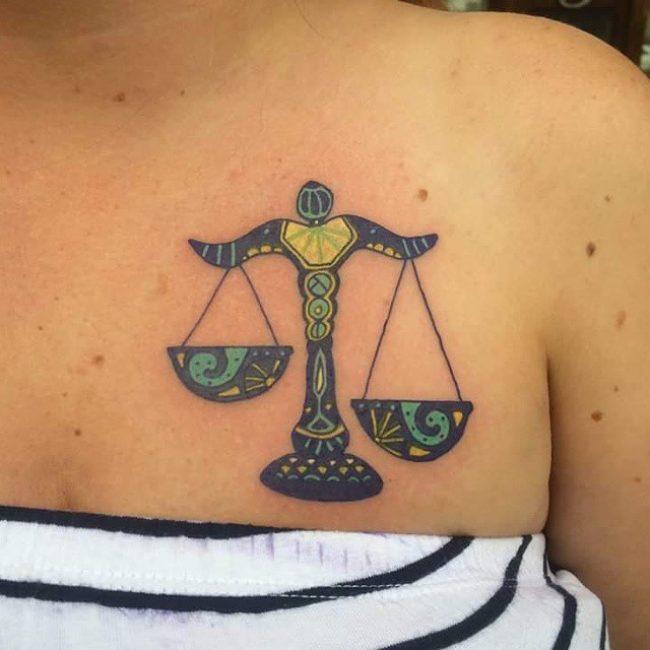 Libra tattoos