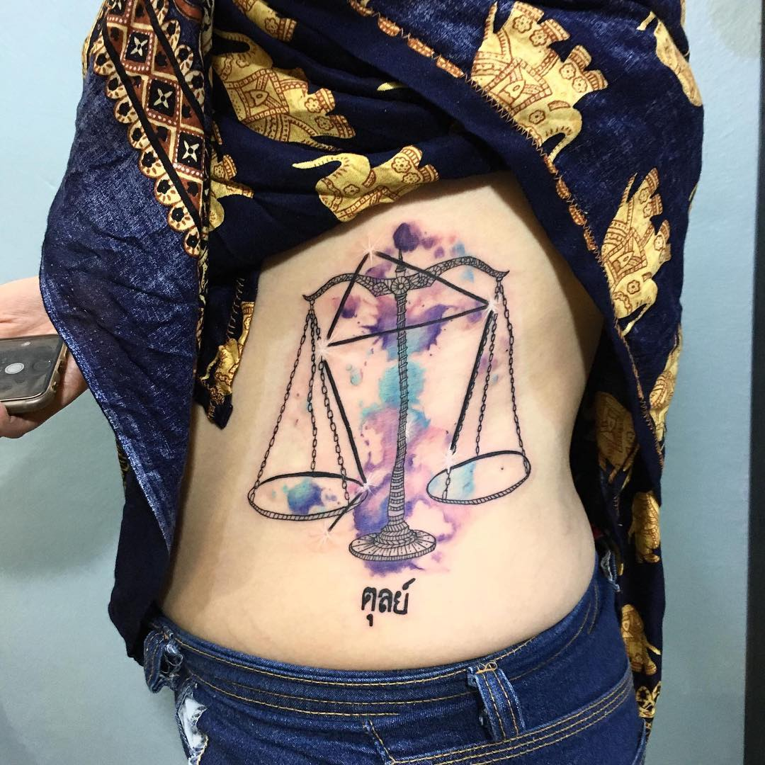 75 Extraordinary Libra Tattoo  Designs &amp Meanings 2018