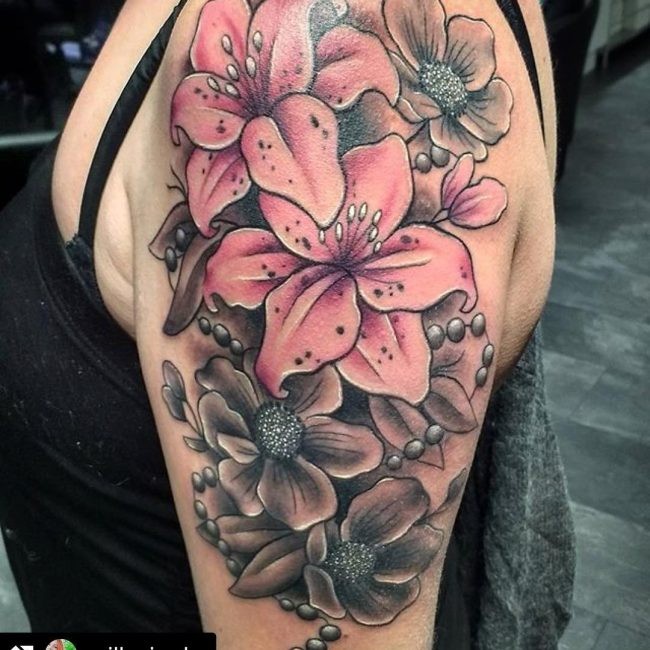 80 lily flower tattoo designs amp meaning tenderness