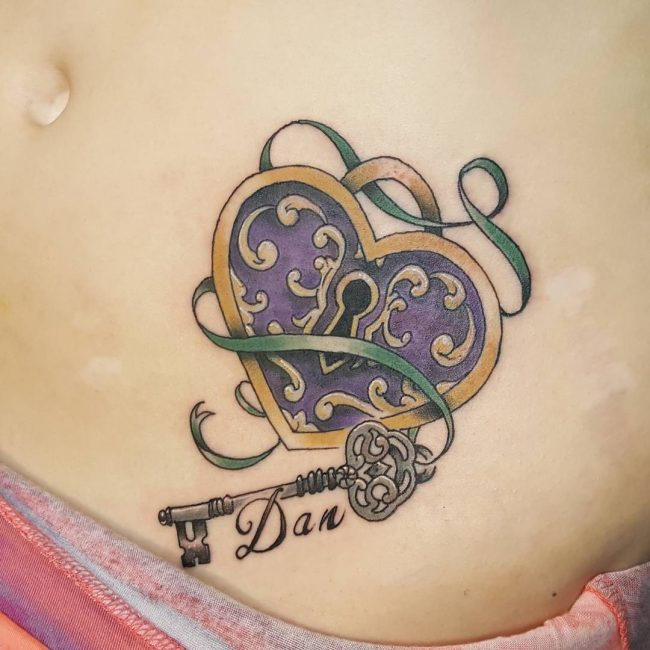 85 Best Lock And Key Tattoos Designs Meanings 2019