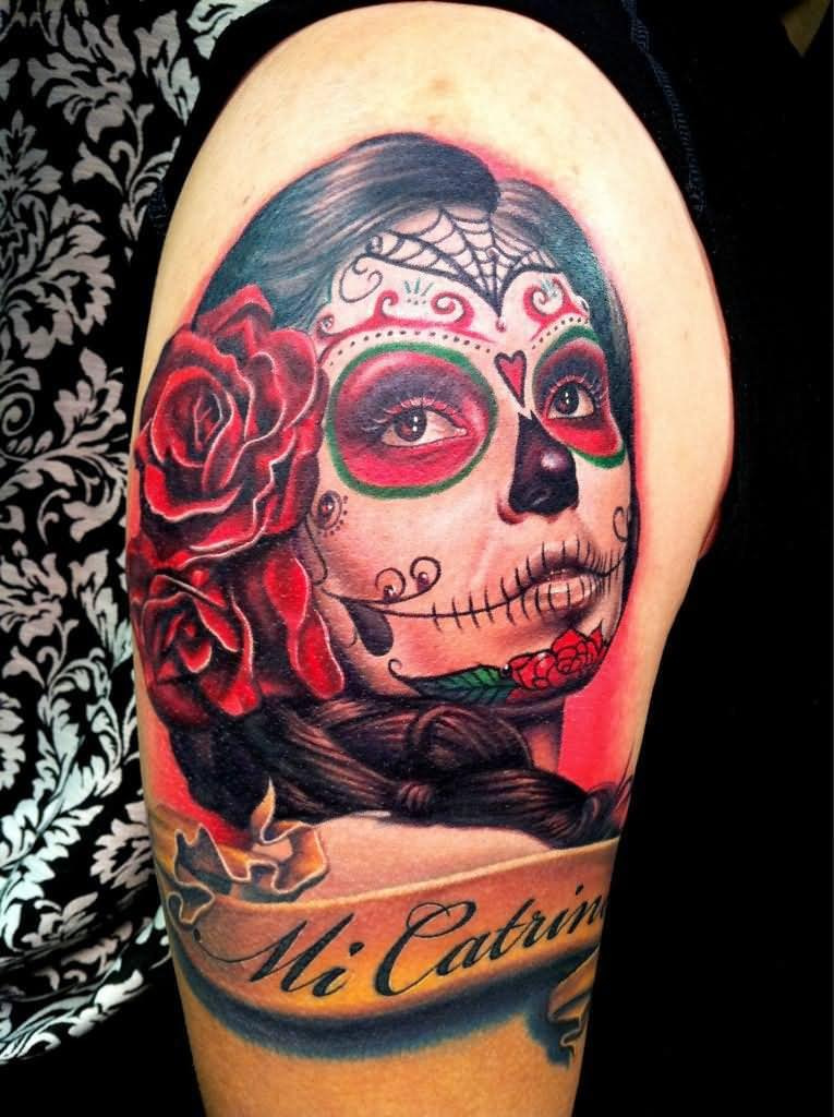 50 best mexican tattoo designs meanings 2018 for Skull tattoos meaning