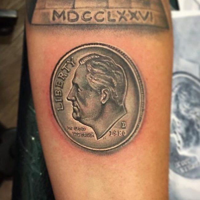 Money Tattoos