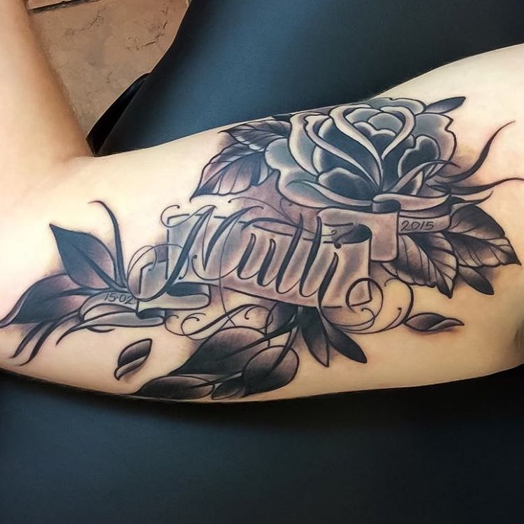 100+ Memorable Name Tattoo Ideas & Designs