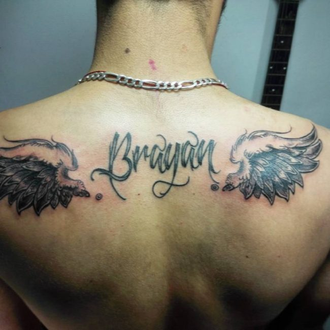 name tattoo