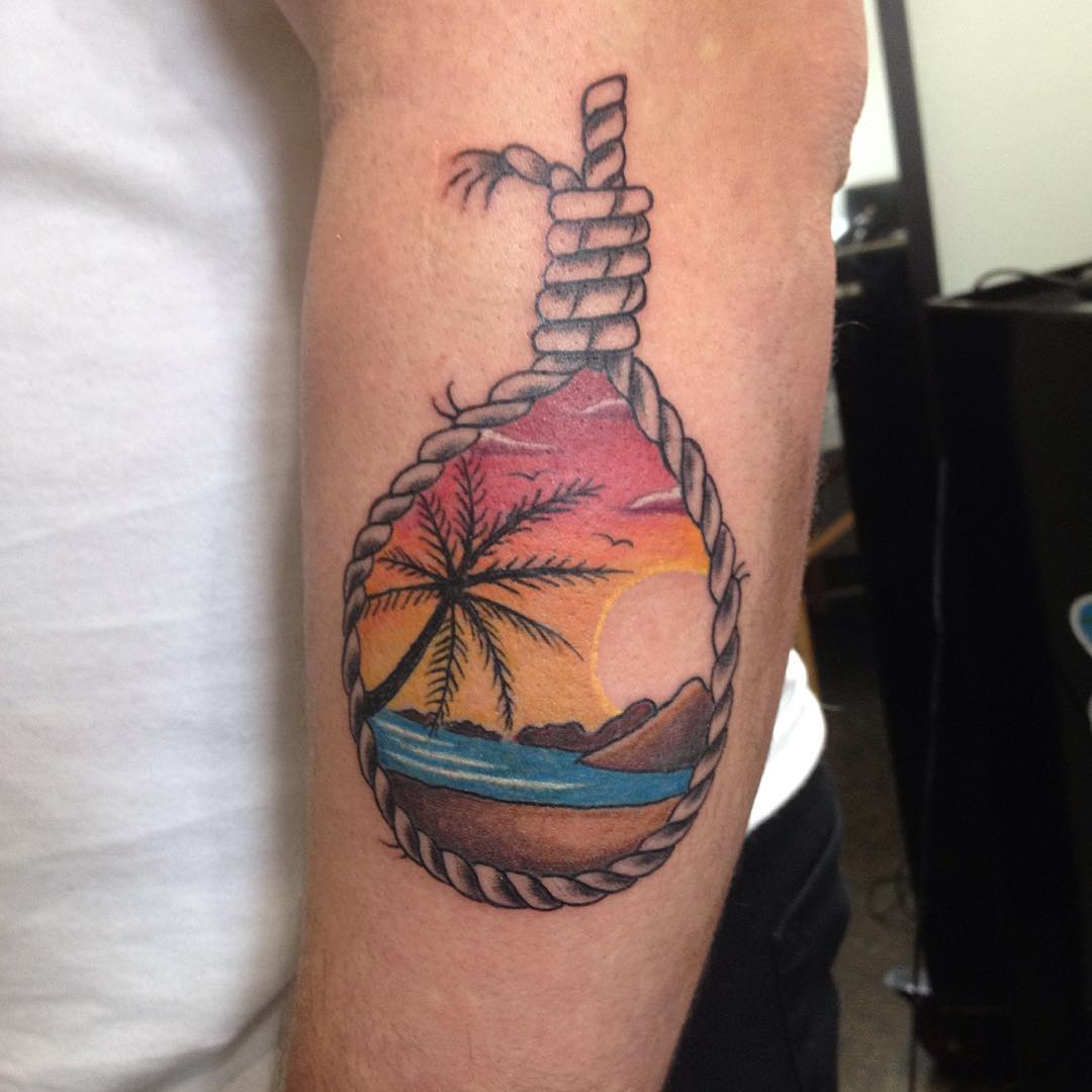 50 Superb Palm Tree Tattoo Designs and Meaning   Palm Tattoos