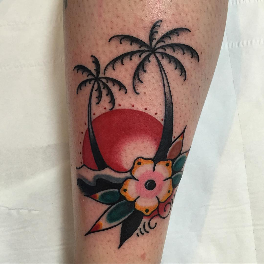 120+ Best Palm Tree Tattoo Designs and Meaning - [Ideas of ...   Palm Tattoos