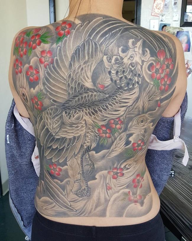 Phoenix Tattoos (2)