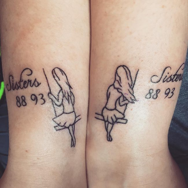 95 Superb Sister Tattoos Matching Ideas Colors Symbols