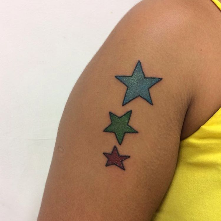 75+ Unique Star Tattoo Designs & Meanings
