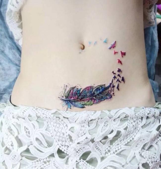 Stomach Tattoos (1)