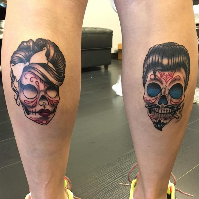 Sugar Skull Tattoos (3)
