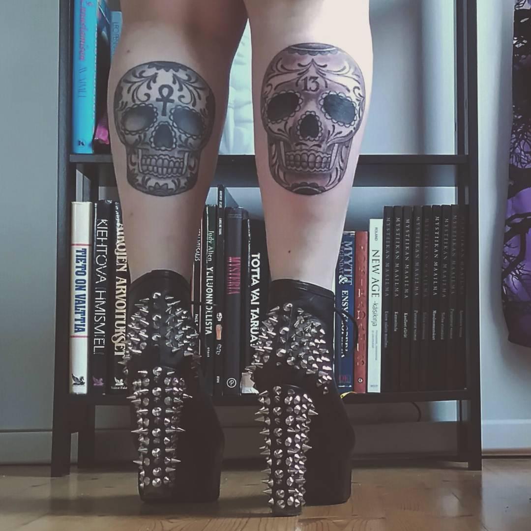 125 Best Sugar Skull Tattoo