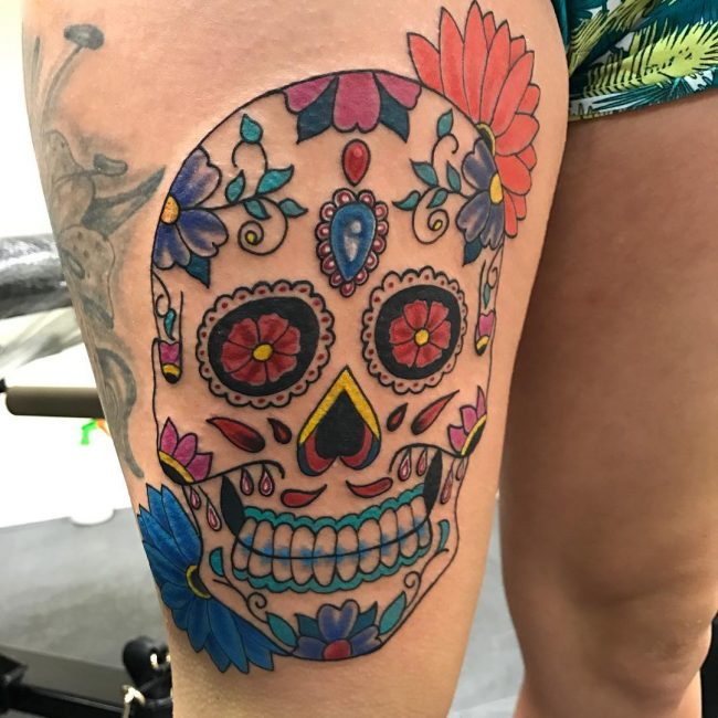Sugar Skull Tattoos