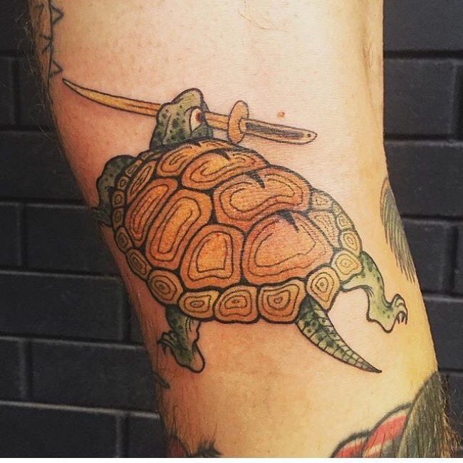 Tatuajes de tortuga