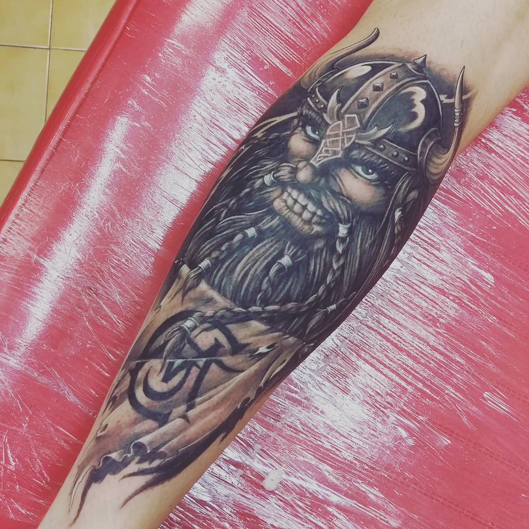 95+ Best Viking Tattoo Designs & Symbols - [2019 Ideas]Norse Viking Tattoo Designs