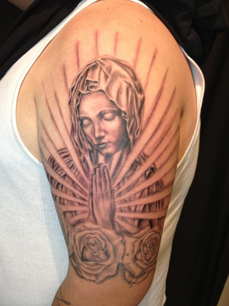 Virgin mary designs there