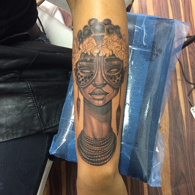 30 Traditional Tribal African Symbol Tattoos Designs Dinocrofo