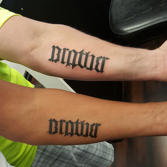 45 Ambigram Tattoos Designs Meanings